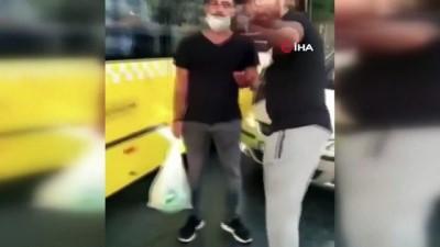 Alibeyköy'de kadın sürücüye yaşatılan dehşet anları kamerada