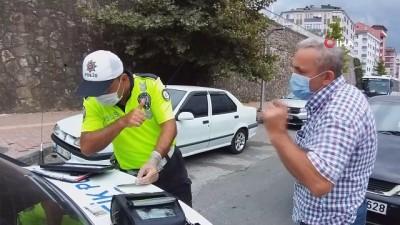 13 sürücüye kırmızı ışık ihlalinden cezai işlem uygulandı