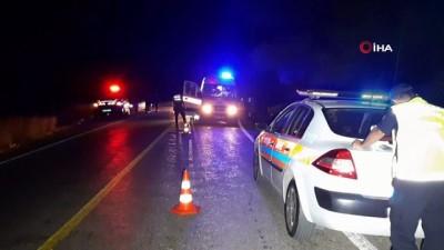 Fethiye'de otomobil devrildi: 1 ölü