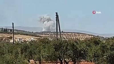 - Rus savaş uçaklarından İdlib'e hava saldırısı