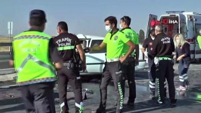 Nevşehir'de feci kaza...Cenazelerini görmek isteyen torunları sinir krizi geçirdi: 2 ölü