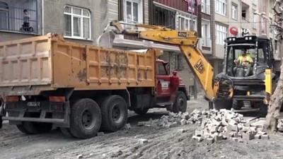 Esenyurt'ta cadde ve sokaklar yenileniyor