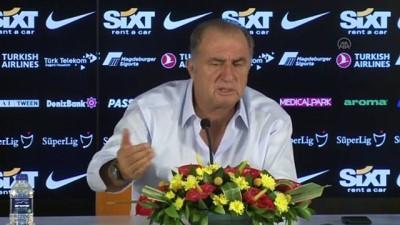 Maçın ardından: Galatasaray Teknik Direktörü Fatih Terim (2) - İSTANBUL