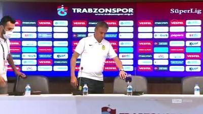 Trabzonspor - Yeni Malatyaspor maçının ardından - TRABZON