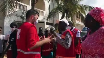 Türk Kızılay, Senegal'de sel mağdurlarına yardım ulaştırdı
