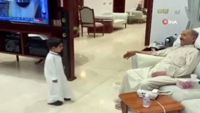 - Hayatını kaybeden Kuveyt Emirinin torunuyla son görüntüsü paylaşıldı