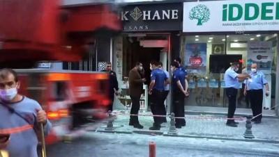 Fatih'te iş yerinde patlama: 2 yaralı - İSTANBUL