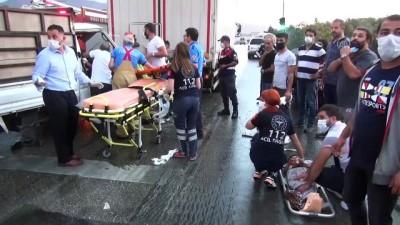 Trafik kazalarında 1'i çocuk 4 kişi yaralandı - BURSA