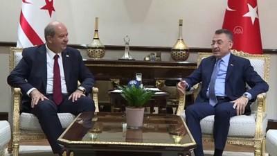 Cumhurbaşkanı Yardımcısı Oktay: ''KKTC'deki çocukların uzaktan eğitimlerine yönelik 9 milyon lira mali olarak destek olacağız'' - ANKARA