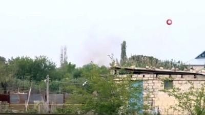 - Ermeni ordusu Terter bölgesinde sivil yerleşim birimlerini vurdu