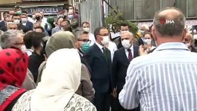 Bakan Kasapoğlu, Draman Yüzme Havuzu ve Spor Kompleksi'nin temelini attı