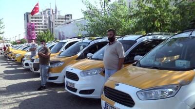 Kovid-19 ile mücadele için sağlık ekiplerine 10 taksi tahsis edildi - DİYARBAKIR