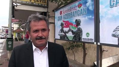 Düzce ve Sakarya'dan Azerbaycan'a manevi destek - DÜZCE/SAKARYA