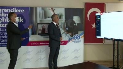 Sultangazi'de öğrencilere online danışmanlık hizmeti
