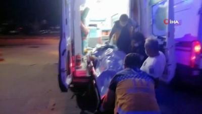 Otomobil, kırmızı ışıkta geçen otomobile çarptı: 5 yaralı