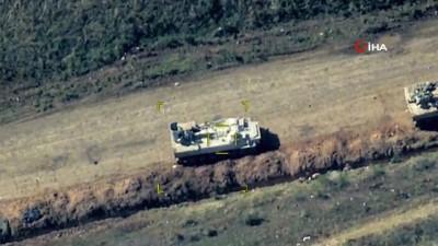 - Azerbaycan ordusu ateşkesi ihlal eden zırhlı araçları imha etti