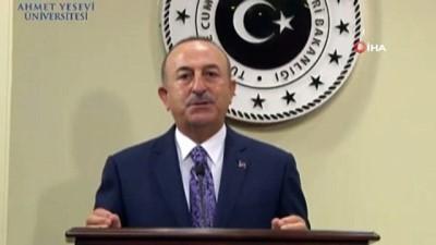 """Bakan Çavuşoğlu: """"Ermenistan'ın bu eylemleri savaş suçudur"""""""