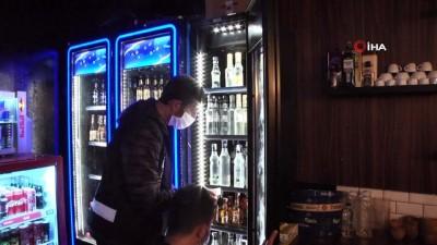 Başkent'te sahte içki operasyonu