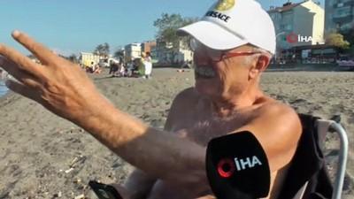 Düzce'de olta avcıları sahilleri doldurdu