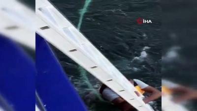 İDO hayat kurtardı... Denizde can pazarı kamerada