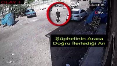 Hırsız önce kameraya sonra polise yakalandı