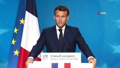"""- Fransa Cumhurbaşkanı Macron: """"AB, Türkiye ile diyaloğa hala hazır"""""""