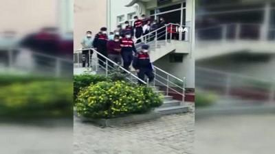 Cinayet şüphelileri Jandarmanın titiz çalışması sonucu yakalandı