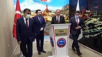 AK Parti Genel Başkan Yardımcısı Özhaseki, İl Başkanlığı ve Belediyeyi ziyaret etti