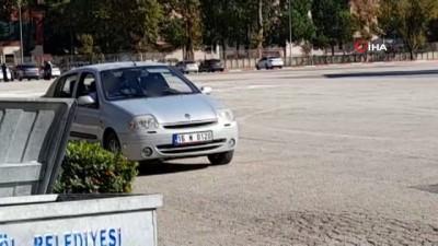 14 yaşındaki çocuğuna araç kullandırdı, cezayı yedi