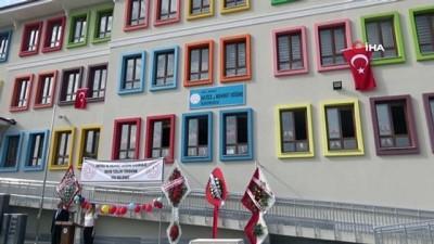 Hayırsever aile tarafından yaptırılan Hatice ve Mehmet Döğme İlkokulu törenle açıldı