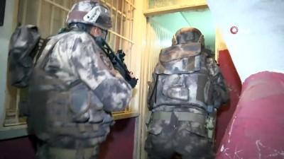 - 16 kişinin gözaltına alındığı DEAŞ operasyonu polis kamerasında