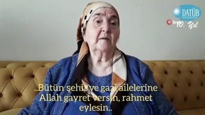 """Şehit annesi Mustafayeva: """"Düşmanları topraklarımızdan reddetmemiz gerek"""""""