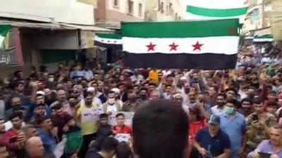 - Halep'te Fransa karşıtı protesto