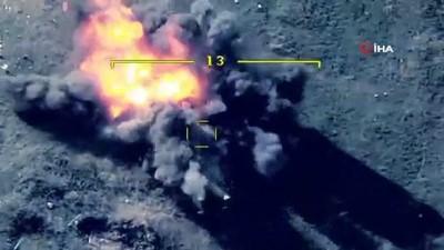 - Azerbaycan, Ermenistan'a ait askeri hedefleri nokta atışıyla vurdu