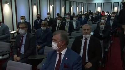 """Yeniden Refah Partisi Genel Başkanı Erbakan: """"Milletimizin başı sağ olsun"""""""