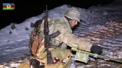 Azerbaycan ordusu 27 yıldır işgal altında bulunan Kelbecer'e girdi (2)