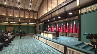 ANKARA - Türkiye ve Katar arasında 10 anlaşma imzalandı (1)