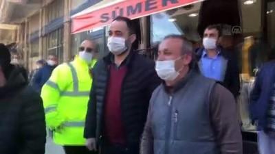 GİRESUN - Bakan Kurum, Dereli'de esnaf ve vatandaşlarla bir araya geldi