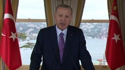 İSTANBUL - Cumhurbaşkanı Erdoğan'dan Amerika Müslüman Cemiyeti 23. Yıllık Kongresi'ne mesaj (2)