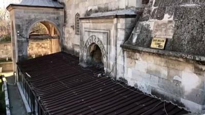 EDİRNE - Tarihi camiye zarar vermeye çalışan zanlı aranıyor