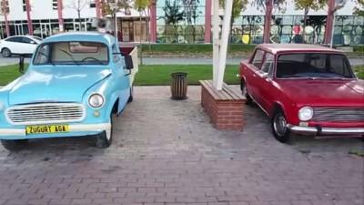 KARABÜK - Araç müzesi ziyaretçilerini zamanda yolculuğa çıkarıyor (TEKRAR)