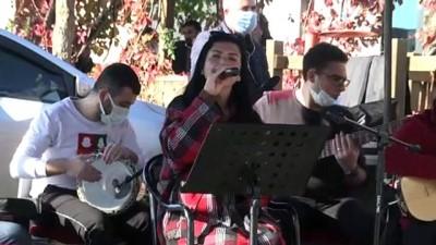 DİYARBAKIR - 'Küçede sanat var' müzik etkinliği