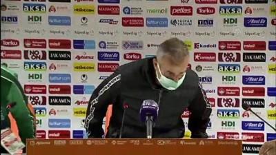 ANTALYA - Aytemiz Alanyaspor - İttifak Holding Konyaspor maçının ardından