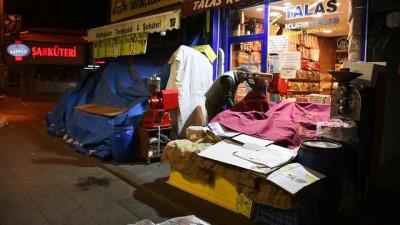 SİVAS - Sokağa çıkma kısıtlamasına uyuluyor