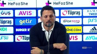 İSTANBUL - Derbi maçın ardından - Fenerbahçe Teknik Direktörü Erol Bulut