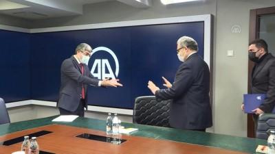 ANKARA - Pakistan'ın Ankara Büyükelçisi Gazi'den AA'ya ziyaret