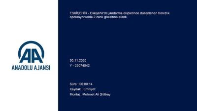 ESKİŞEHİR - Jandarmadan kaçan 2 hırsızlık şüphelisi yakalandı