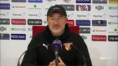 SİVAS - Demir Grup Sivasspor-Göztepe maçının ardından - Ersan Parlatan