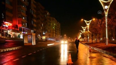 BİTLİS - Sokağa çıkma kısıtlaması