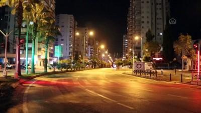 ADANA - Sokağa çıkma kısıtlaması (2)